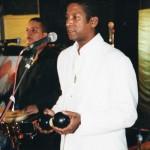 Ángel Salazar, un artista que complementa perfectamente al grupo Sentimiento de Cuba